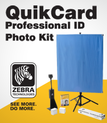QUIKCARD™ PROFESSIONAL PHOTO ID KIT