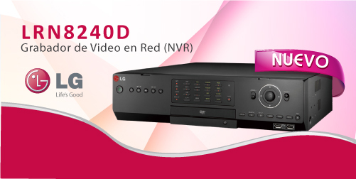 GRABADOR DIGITAL EN RED LRN8240D