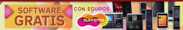 Software Gratis con Productos Suprema