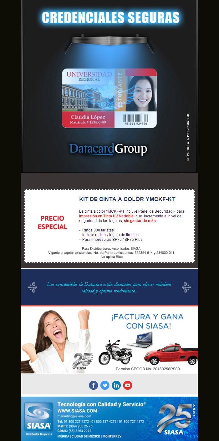 Datacard Universidad