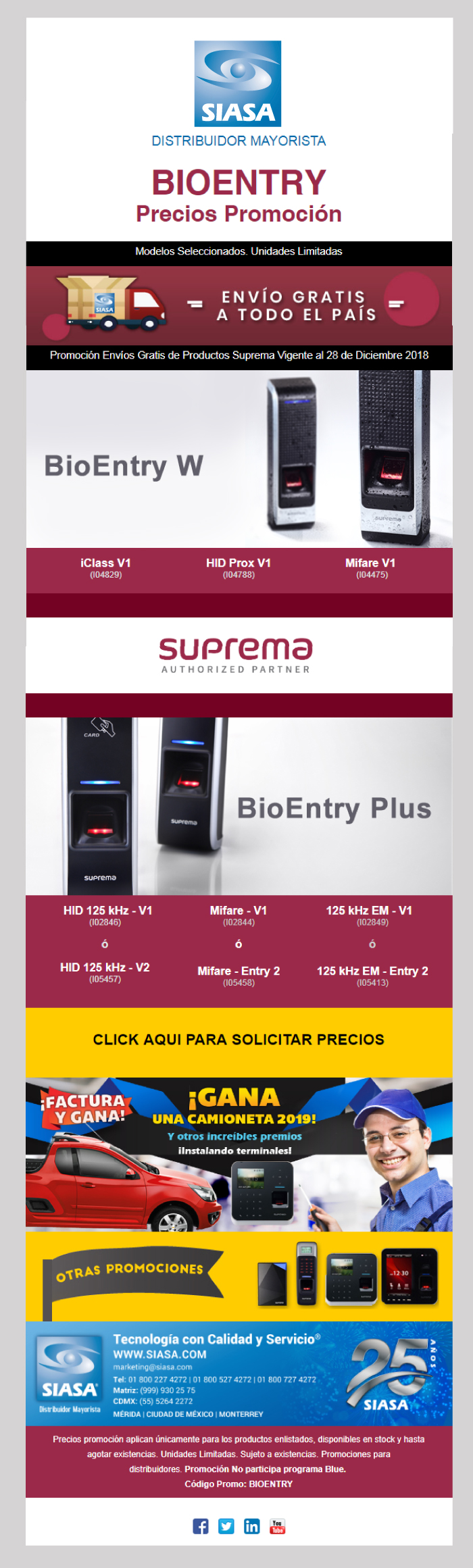 PRODUCTOS BIOENTRY SUPREMA