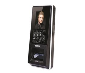El dispositivo FaceAXS Slim de reconocimiento facial y lector de tarjetas de proximidad 125khz para control de accesos y asistencias