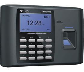 La Neo Connect Plus la terminal biométrica de huella dactilar para el control de accesos y asistencias